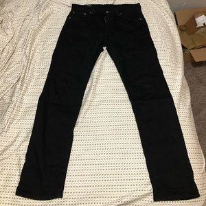 Levi's Premium 502 Jeans, Black, Size: 30x32.